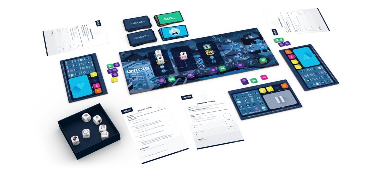 Untold: Adventures Await - Storytelling Game image