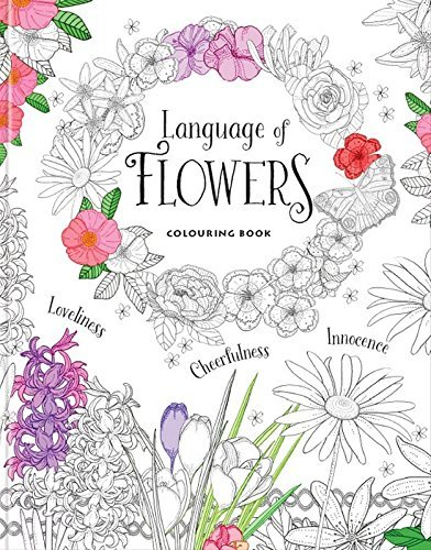 Language of Flowers - Colouring Book