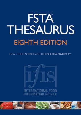 FSTA Thesaurus Eighth Edition image
