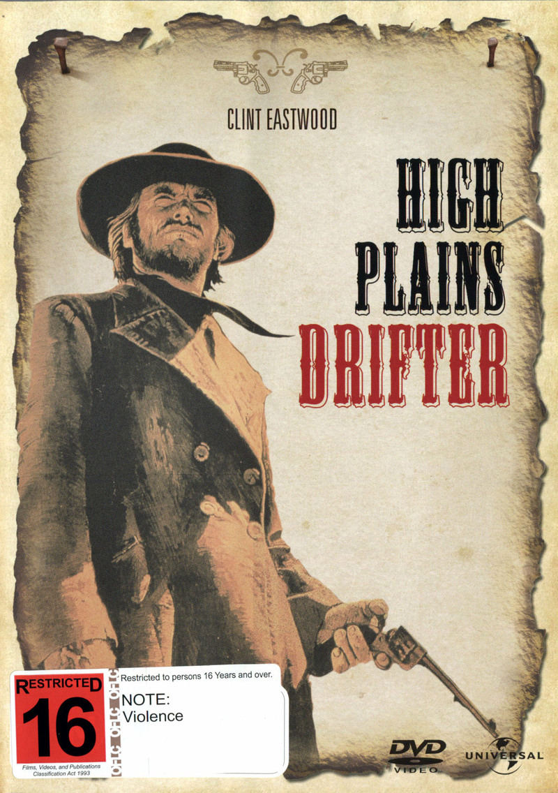 High Plains Drifter on DVD image