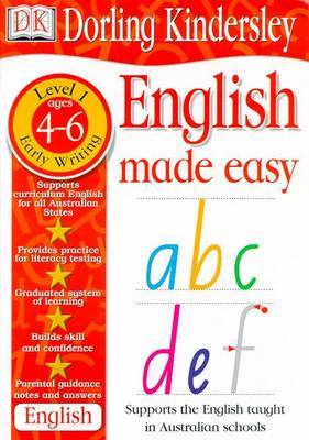 English Made Easy: Early Writing by Dorling Kindersley