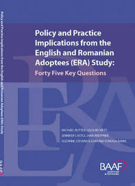 Policy and Practice Implications from the English and Romanian Adoptees (ERA) Study image