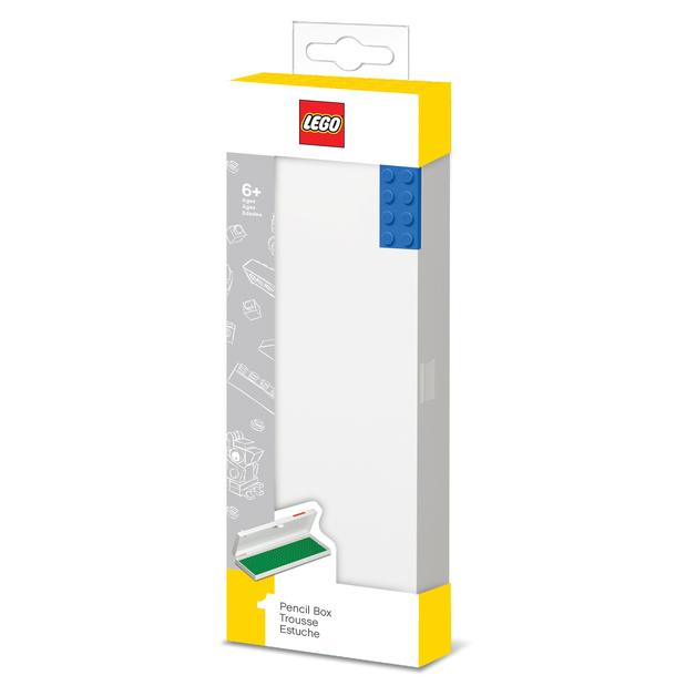 LEGO: Hard Pencil Box - Blue 8 Plate