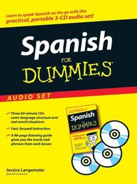Spanish For Dummies by Jessica Langemeier