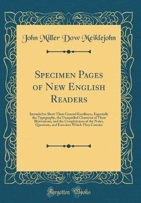 Specimen Pages of New English Readers by (John Miller Dow Meiklejohn image