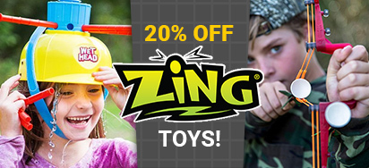 20% off Zing Toys!