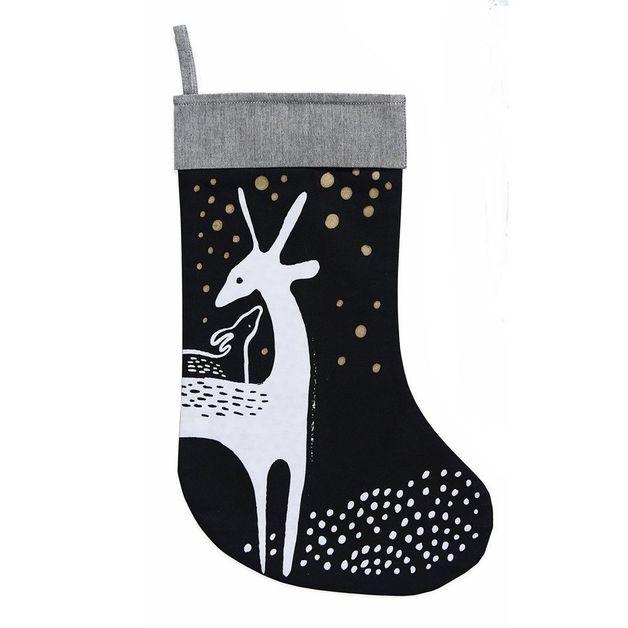 Wee Gallery: Organic Holiday Stockings - Deer