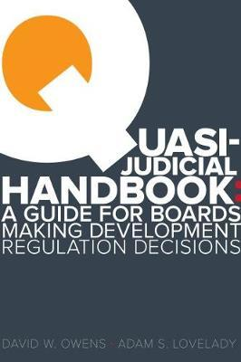 Quasi Judicial Handbook by Adam Lovelady