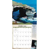 World's Toughest Golf Holes 2020 Square Wall Calendar image