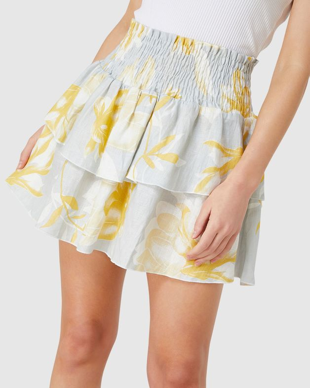 Elwood: Lola Skirt (Yellow Floral) - 8
