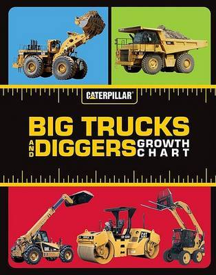 Big Trucks and Diggers Growth Chart by Caterpillar image