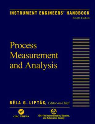 Instrument Engineers' Handbook: Process Measurement and Analysis: Volume 1 image
