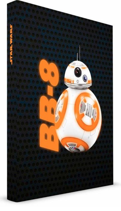 Star Wars Episode VII A5 Notebook with Light Up BB-8 image