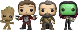Guardians of the Galaxy: Vol. 2 - Groot, Star-Lord, Ego & Gamora - Pop! Vinyl 4Pk
