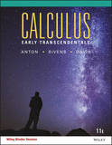 Calculus Early Transcendentals 11th Edition Binder Ready Version by Howard Anton