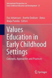 Values Education in Early Childhood Settings