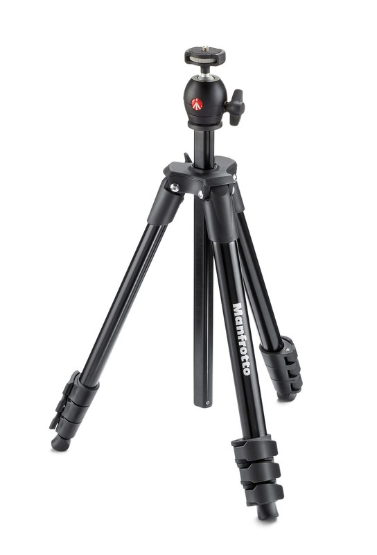 Manfrotto MF Compact Light Tripod Black Ball Head
