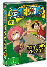 One Piece - Vol. 11: Tony Tony Chopper on DVD
