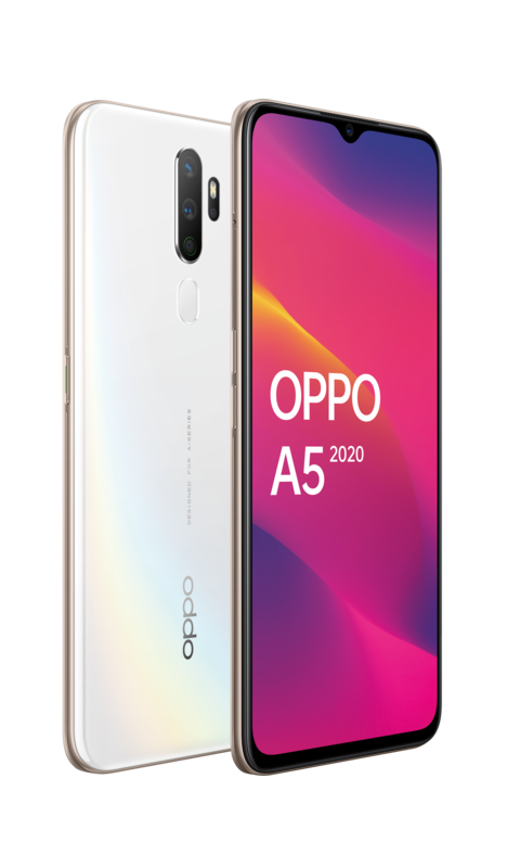 OPPO A5 2020 - Dazzling White