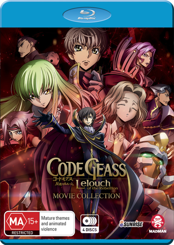 Code Geass Lelouch of the Rebellion Movie Collection (Limited Edition) on Blu-ray