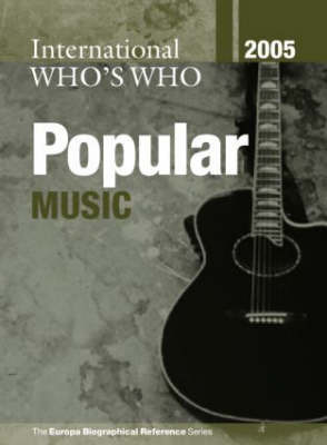 International Who's Who in Popular Music