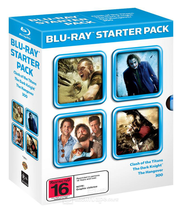 Blu-Ray Starter Pack on Blu-ray