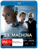 Ex Machina on Blu-ray