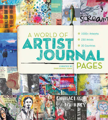 A World of Artist Journal Pages by Ellen Lupton