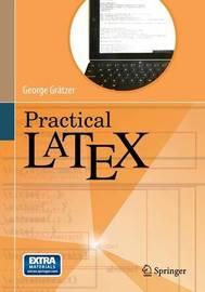 Practical LaTeX by George Gratzer