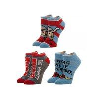 Marvel Thor 3 Pack Ankle Socks