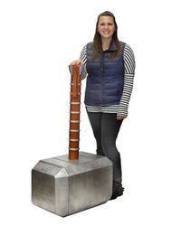 Marvel: Thor's Hammer - Oversized Foam Prop Replica