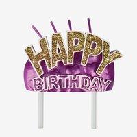 Legami Cake Candle - Happy Birthday
