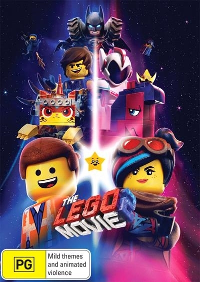 The Lego Movie 2 on DVD
