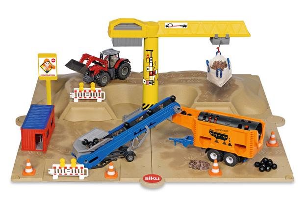 Siku: Excavation Pit - Diecast Vehicle Playset