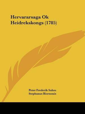 Hervararsaga Ok Heidrekskongs (1785) by Peter Frederik Suhm image