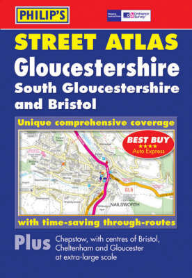 Philip's Street Atlas Gloucestershire: Pocket book