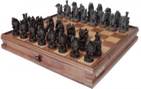 Dal Rossi Dragon Chess Set