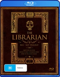The Librarian Trilogy on Blu-ray