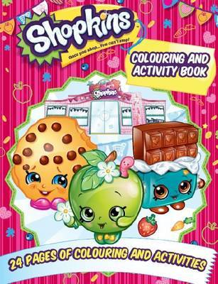 Shopkins Colouring and Activity Book image