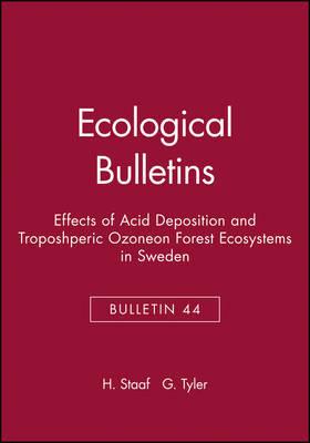 Ecological Bulletins