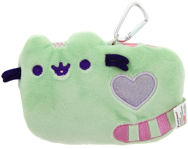 Pusheen: ID Holder Wallet Case - Pastel Green