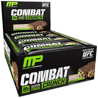 MusclePharm Combat Crunch Bars - Chocolate Chip Cookie Dough (12 x 63g)