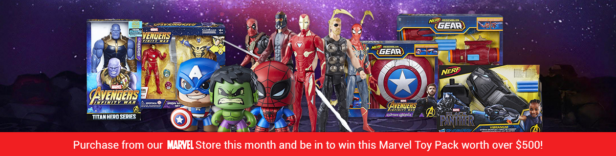 Win a Marvel prize pack worth over $500!