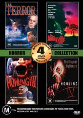 Horror Collection Two - Volume One - 4 Movie Box Set (2 Discs) on DVD
