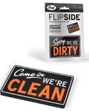 Fred - Flipside Dishwasher Sign