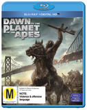 Dawn of the Planet of the Apes on Blu-ray, UV