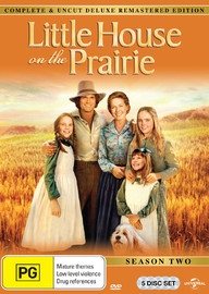 Little House On The Prairie - Season Two Digitally Remastered Edition (5 Disc Set) on DVD