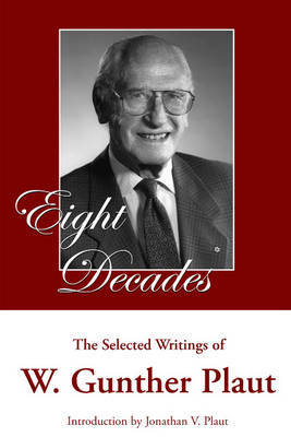 Eight Decades by W.Gunther Plaut image