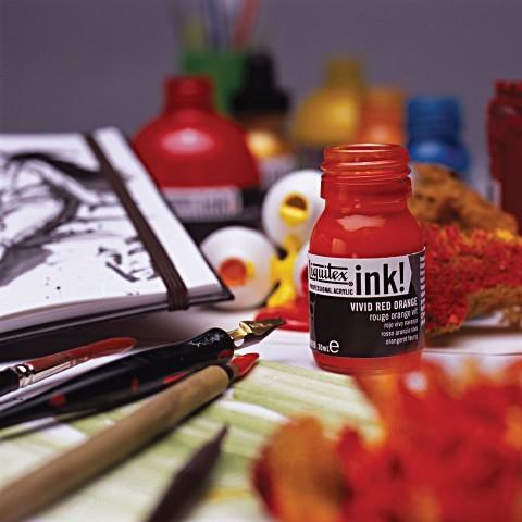 Liquitex: Acrylic Ink - Iridescent Bright Gold (30ml) image