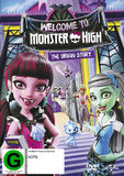 Monster High - Welcome To Monster High DVD